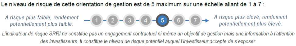 m strategie allocation dynamique SRRI